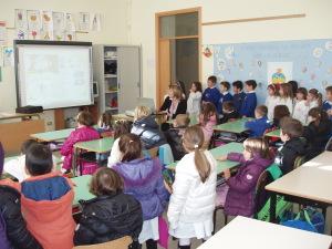 Classe scuola Primaria con lavagna interattiva 2