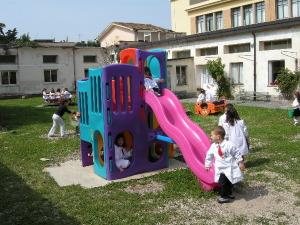 1 giardino infanzia della scuola